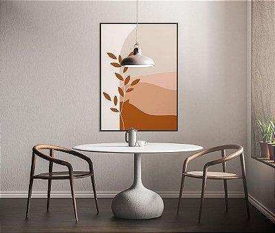 Quadro Abstrato - Coleção Esperança - Ondas do deserto