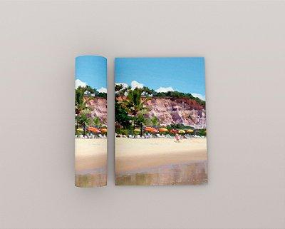 Quadro Praia - Coleção Bahia - Falésia 02