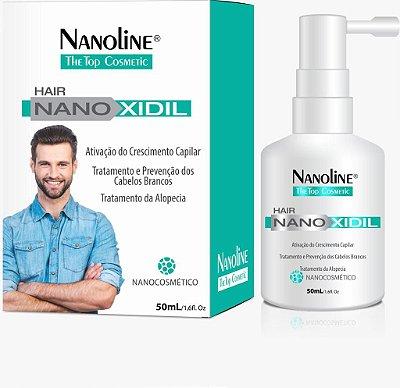 NANOLINE HAIR NANOXIDIL Solução tópica estimulante capilar