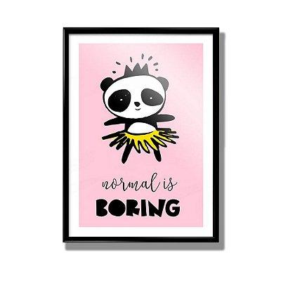Poster Panda Boring