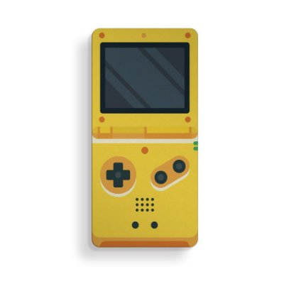 Placa Decorativa Game Boy