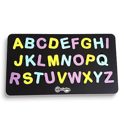 Quebra-cabeça Alfabeto Brinquedo Pedagógico