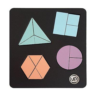 Quebra-cabeça Geométrico Brinquedo Pedagógico