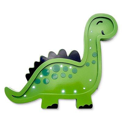 Luminoso Dinossauro Rex MDF para Quarto de Bebê