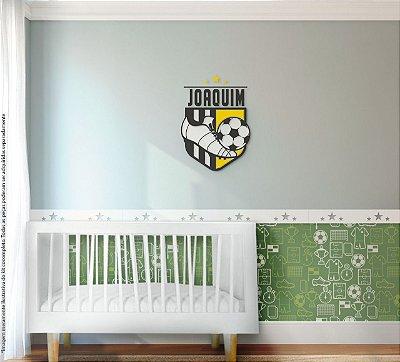 Painel decorativo para quarto - Tema Futebol