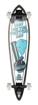 LONGBOARD PINTAIL POSITIVE VIBRATIONS - POSITIVE DAY