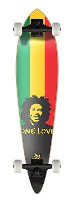 LONGBOARD PINTAIL REGGAE - ONE LOVE