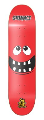 SHAPE WOOD EIGHT GRIMACE - RED
