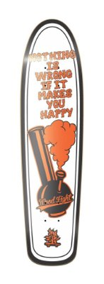 SHAPE LONGBOARD FREERIDE POSITIVE VIBRATIONS - MAKES YOU HAPPY