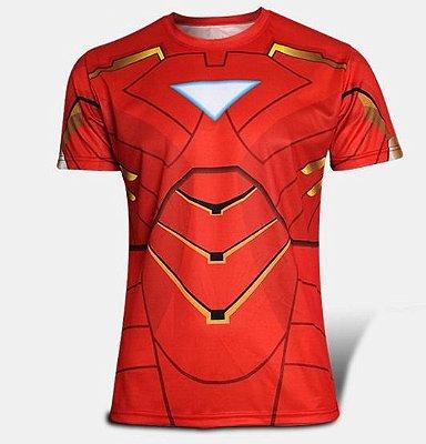 Camiseta Homem De Ferro
