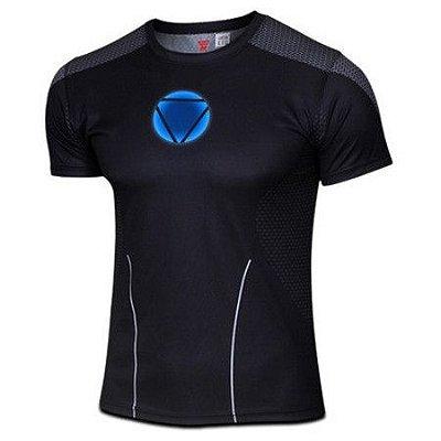 Camiseta Homem De Ferro - Preta