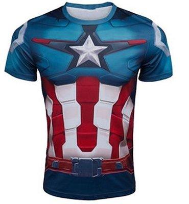 Camiseta Capitão América - Edição Especial