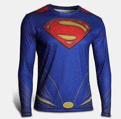 Manga Longa Superman