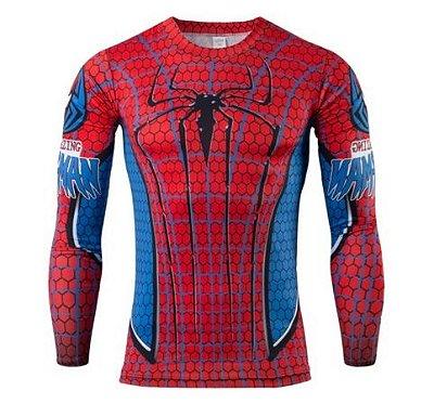 Manga Longa - Incrível Homem Aranha