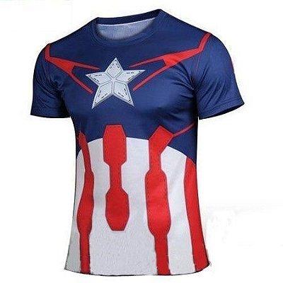 Camiseta Capitão América - Era de Ultron