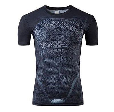 Camiseta Superman - Preta