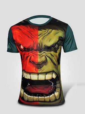 Camiseta Hulk VS Hulk Vermelho