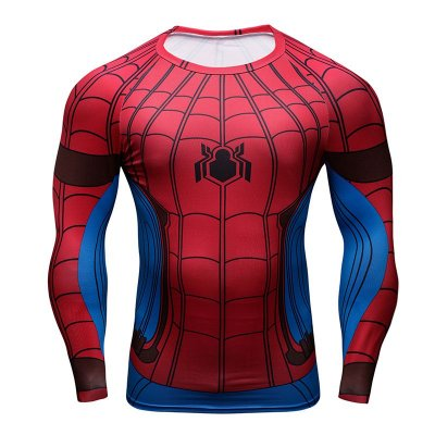 Manga Longa Homem Aranha - Guerra Civil