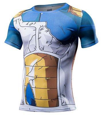 Camiseta Vegeta - Roupa de Combate
