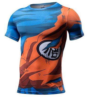 Camiseta Goku - Roupa de Combate
