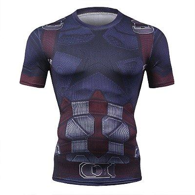 Camiseta Capitão América - Guerra Infinita