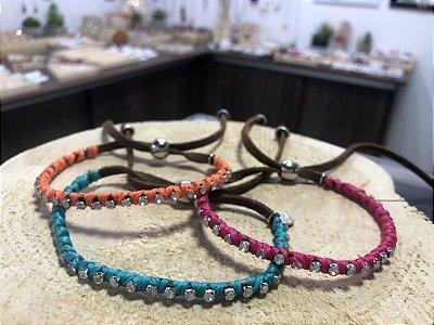Kit pulseiras coloridas