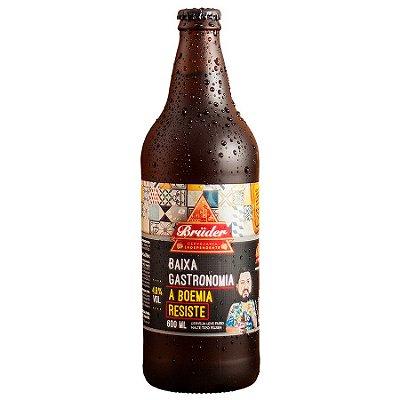 Cerveja Brüder Baixa Gastronomia Pilsen 600ml