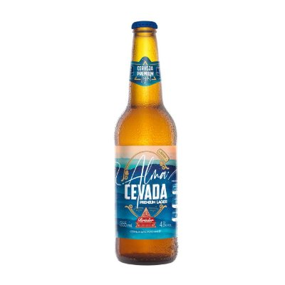 Cerveja Brüder Alma Cevada Lager  Long Neck 355ml