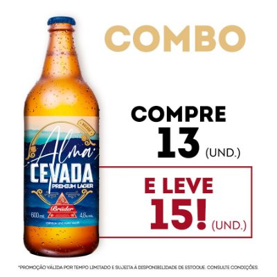 Combo Alma Cevada - Compre 13 e leve 15