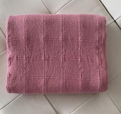 Manta Para Sofa E Cama Rosa Lena