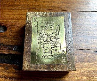Caixa para cartas de baralho p967