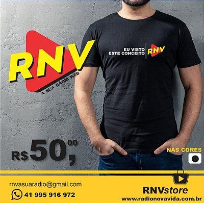 Camiseta Eu Visto Esse Conceito RNV Store