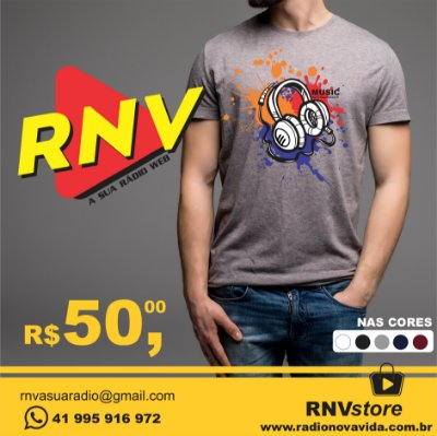 Camiseta Music Soul Expression RNV Store
