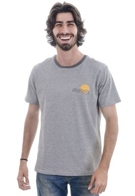 Camiseta Cinza Mescla Tietê River
