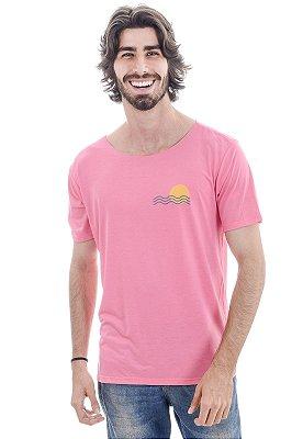 Camiseta Rosa Tietê River