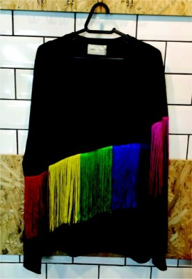 Blusa Sweater Rainbow