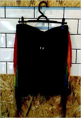 Bermuda Suede Rainbow Preta