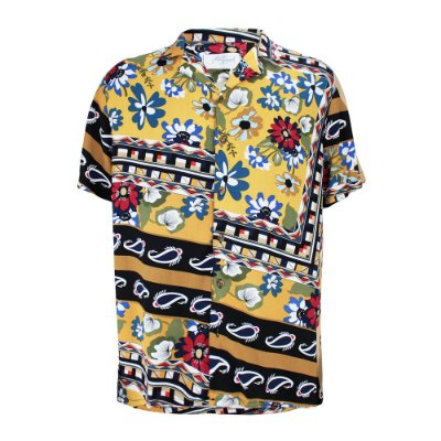 Camisa México Mostarda
