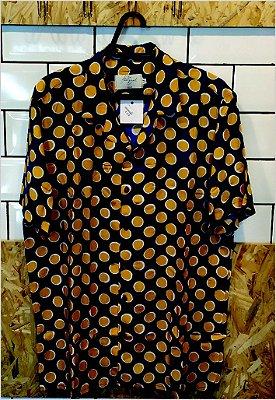 Camisa Egg Azul e Amarelo