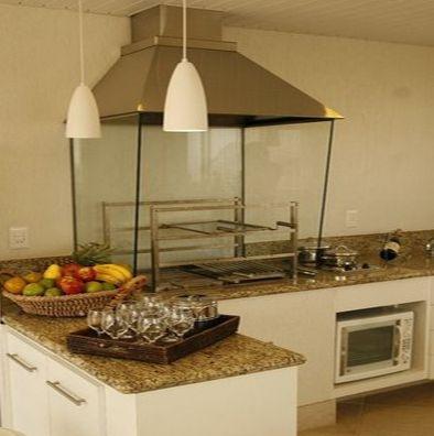 65- Churrasqueira com Vidro - Projeto Marcia Feitosa