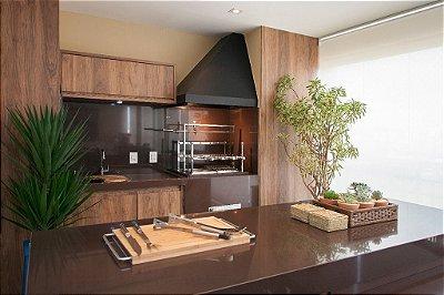29- Churrasqueira de Apartamento - Projeto Marcos Contrera