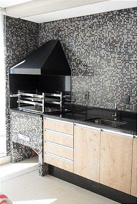68- Churrasqueira de Apartamento com Coifa
