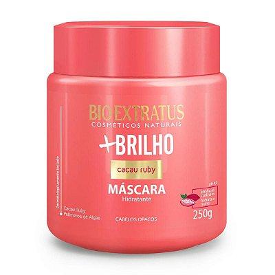 BIO EXTRATUS MASCARA DE TRATAMENTO +BRILHO CACAU RUBY HIDRATANTE 250g