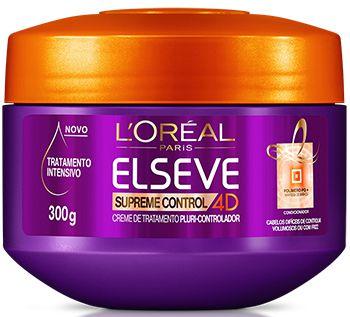 ELSEVE CREME DE TRATAMENTO SUPREME CONTROL 4D 300g