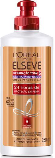ELSEVE CREME PARA PENTEAR EXTRA-PROFUNDO REPARAÇÃO TOTAL 5 250mL