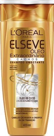 ELSEVE SHAMPOO CACHOS OLEO EXTR. 400mL