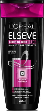 ELSEVE SHAMPOO ARGININA RESIST X3 CERAMIDA 400ML