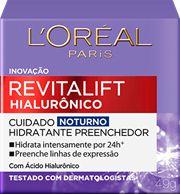 LOREAL REVITALIFT HIALURÔNICO NOTURNO 49g