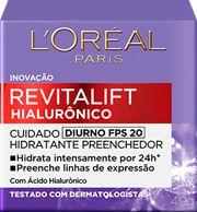 LOREAL REVITALIFT HIALURÔNICO DIURNO FATOR 20 49g