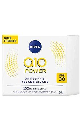 NIVEA Q10 POWER FACIAL ANTISSINAIS DIA PELE NORMAL A SECA 50g